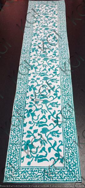 Hand Block Printed Table Runner 01