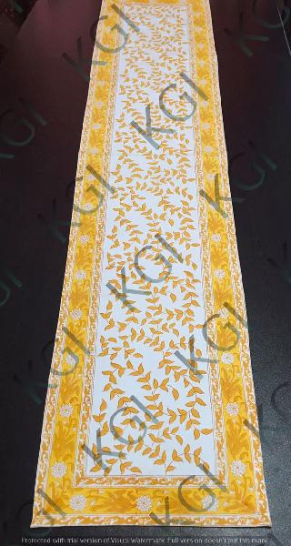 Hand Block Printed Table Runner 04