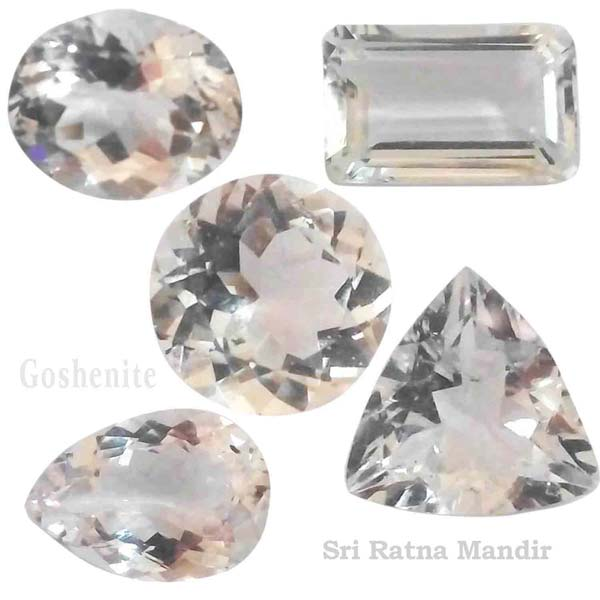 Goshenite Gemstones