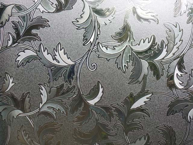 Floral Glass Film