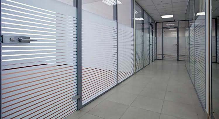 Lining Design Glass Film