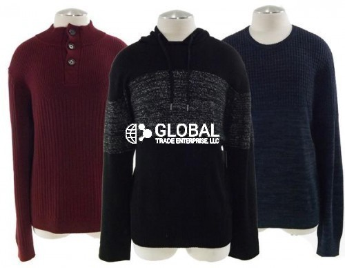 Calvin Klein Mens Assorted Casual Sweaters