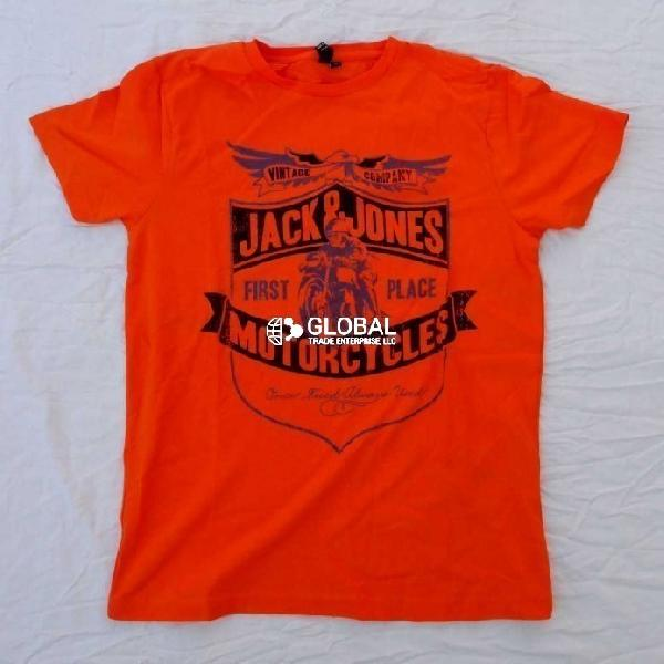 Jack & Jones Mens Round Neck T-Shirts 02
