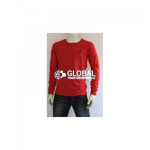 Ralph Lauren Long Sleeve Mens Round Neck T-Shirts 01