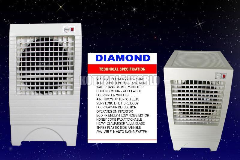 Fibre Body Diamond Air Cooler