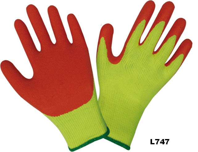 Latex Coated Gloves (L747)