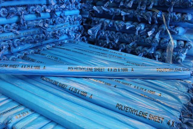 Polyethylene Sheet (4 x 25 M x 1000 Gauge)