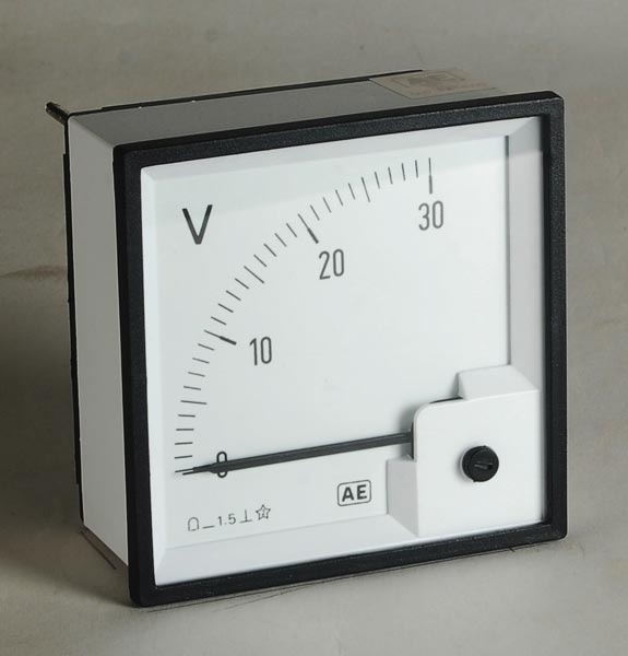 Moving Coil Instrument Meter 01