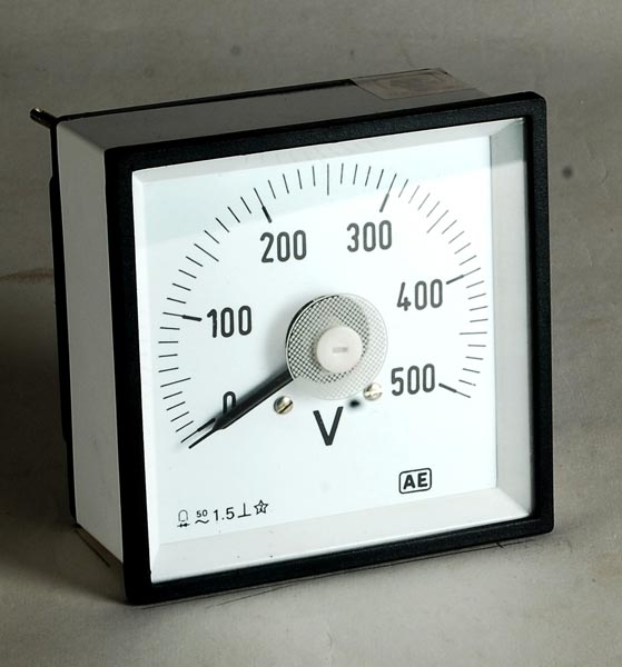 Moving Coil Instrument Meter 02