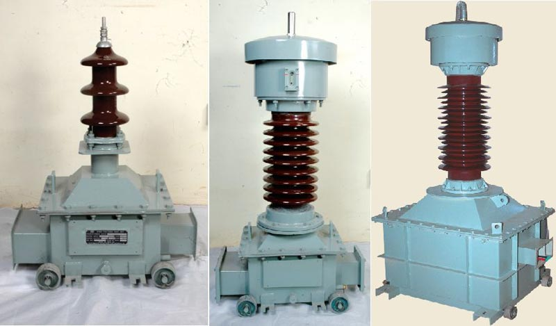 Outdoor Oil Cooled Voltage Transformer HT PT