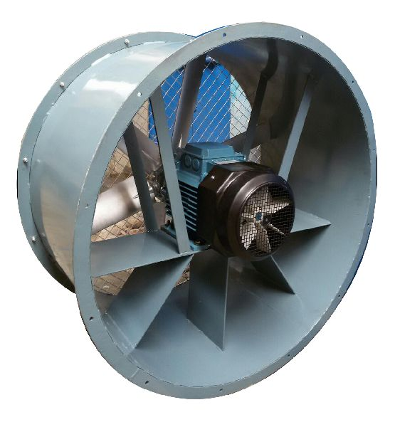 Axial Flow Blower : Tube axial flow fans fan manufacturers in delhi