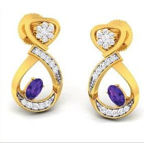 Diamond Earrings (DOCPN5207)