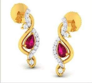 Diamond Earrings (DOCPN5209)