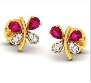 Diamond Earrings (DOCPN5210)