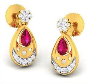 Diamond Earrings (DOCPN5212)