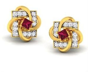 Diamond Earrings (DOCPN5214)