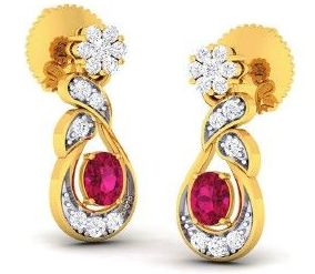 Diamond Earrings (DOCPN5215)