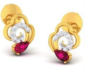 Diamond Earrings (DOCPN5216)