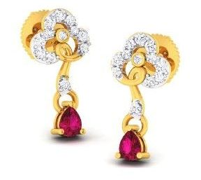 Diamond Earrings (DOCPN5217)
