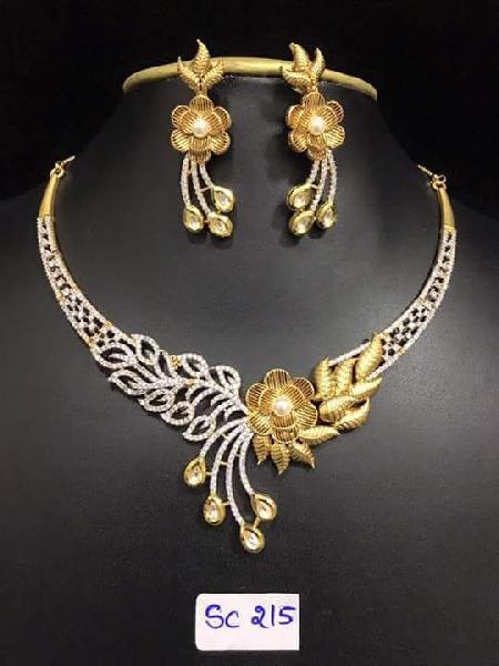 Diamond Necklace Set 04