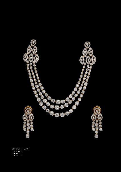 Diamond Necklace Set 05