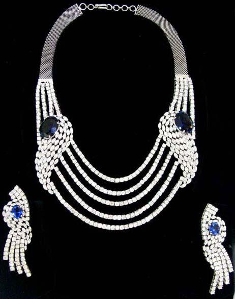 Diamond Necklace Set 01