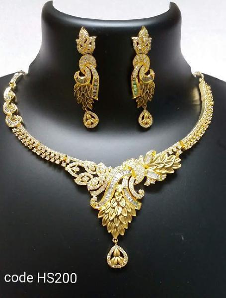 Gold Necklace Set 08
