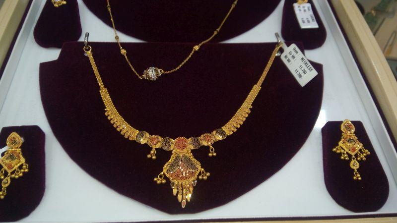 Gold Necklace Set 16