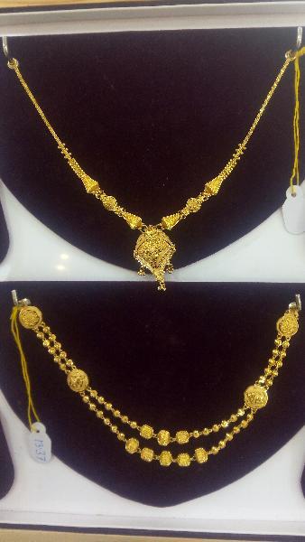 Gold Necklace Set 21