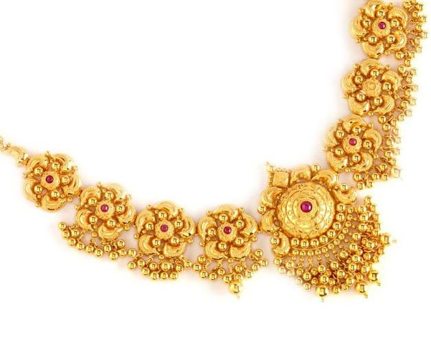 Gold Necklace Set 25