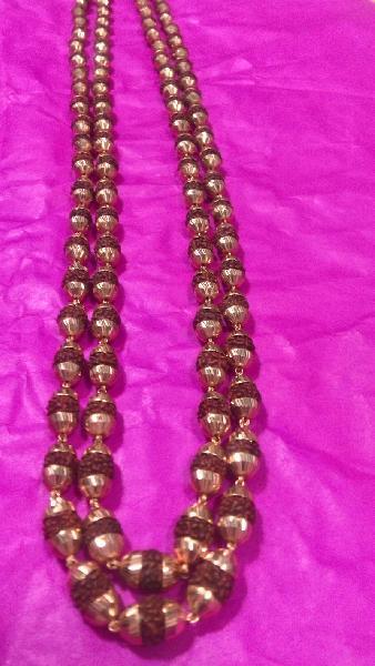 Gold Rudraksha Mala 02