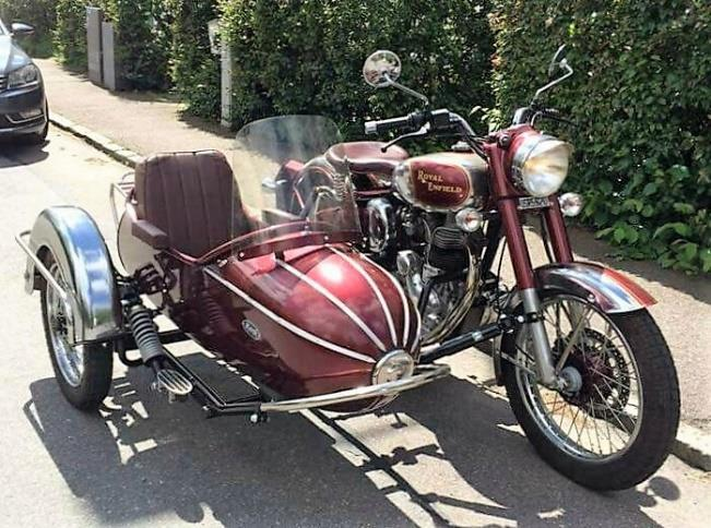 Royal Enfield Sidecar Rental Services