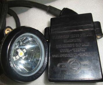 Miner\'s Cap Lamp