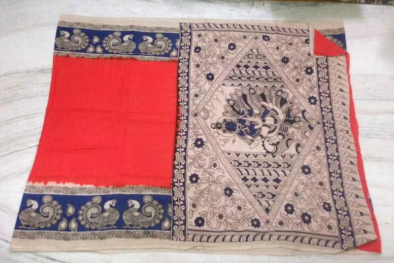 Kalamkari Cotton Saree 04