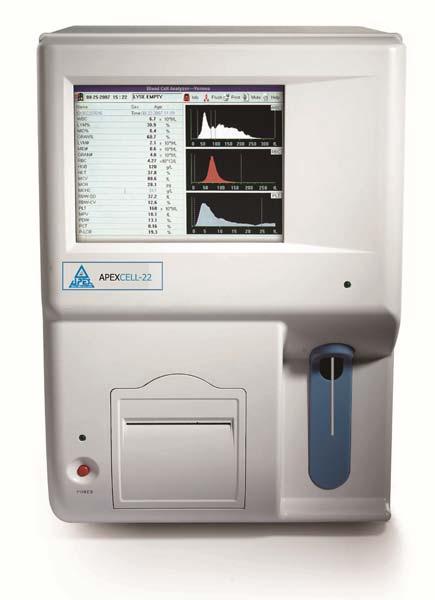 Fully Auto Hematology Analyzer (Apex Cell - 22)