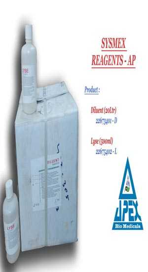 Laboratory Sysmex Hematology Reagents