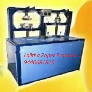 Buffet Paper Plate Making Machine