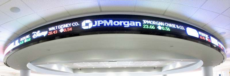 Stock Ticker LED Display Boards