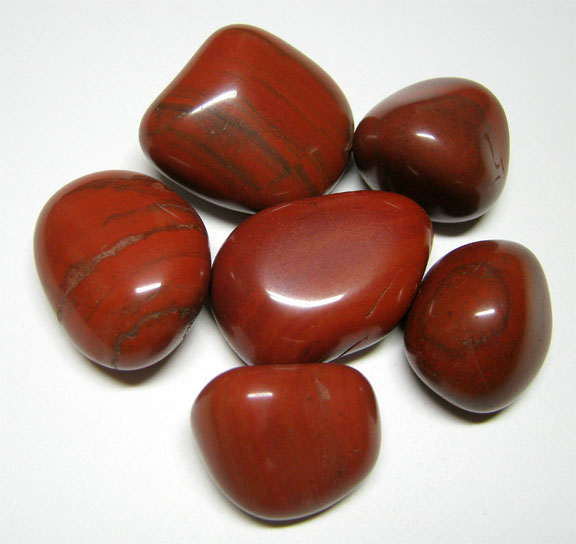 Red Pebble Stones