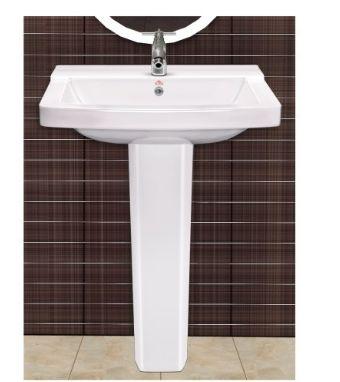 Plain Pedestal Wash Basins