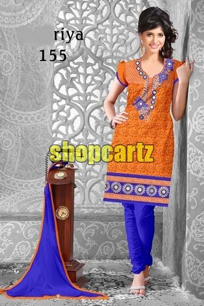 Unstitched Gless Cotton Suits