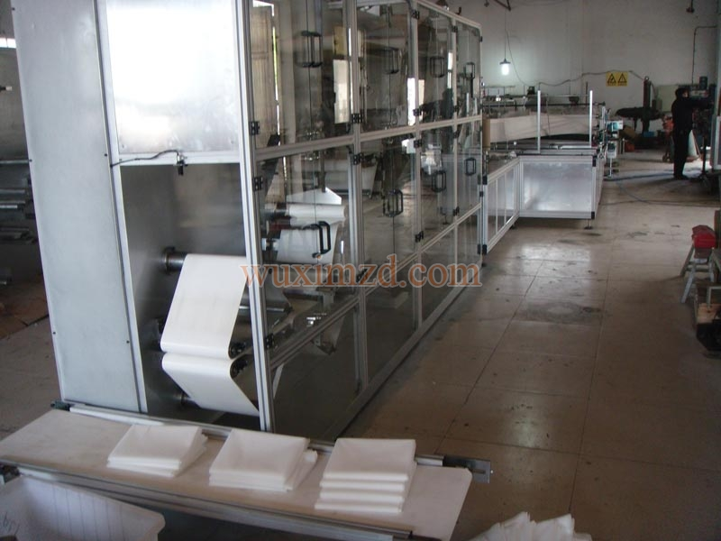 Bed Sheet Folding Machine (4T)