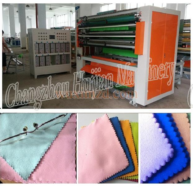 Ultrasonic washcloth slitting machine for sales