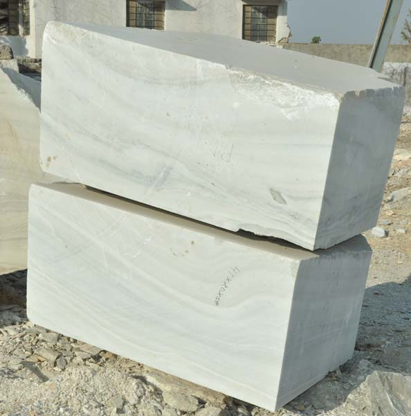 White Marble Blocks