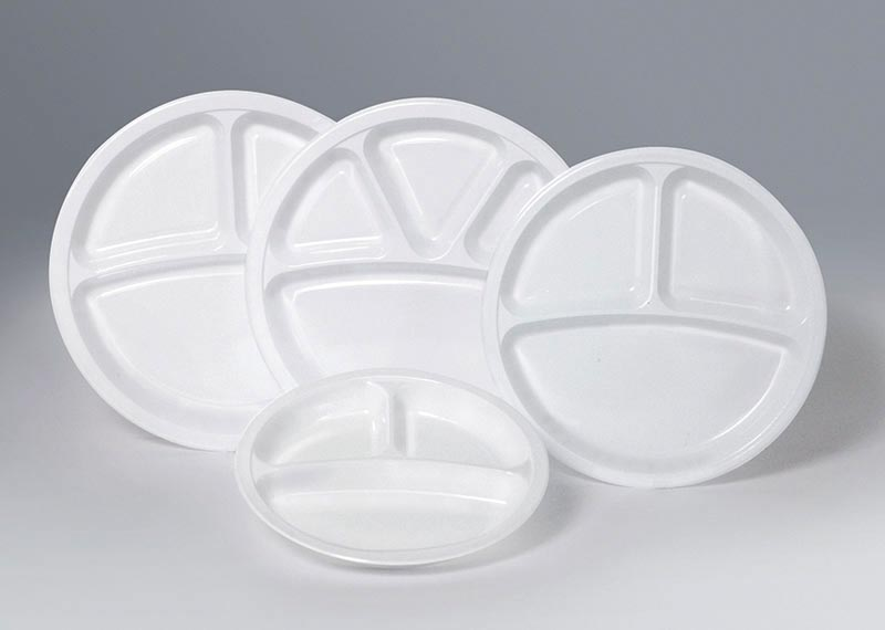 Compartment Plates & Plastic Disposable Round Plates Manufacturers