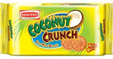 Coconut Crunch Biscuits