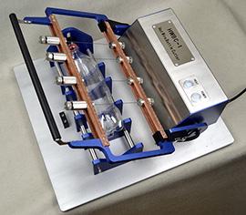 Hot wire bottle cutter