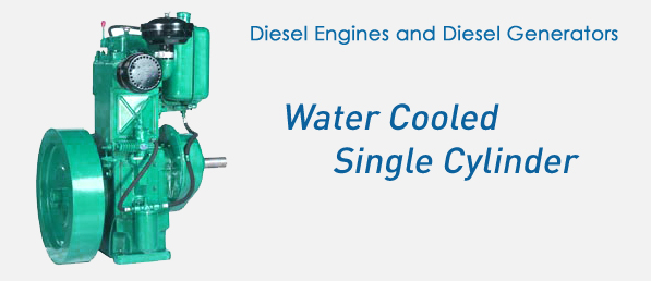 High Speed Water Cooled Single Cylinder