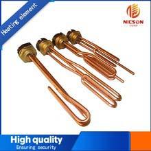 Tubular Copper Flange Heating Tube