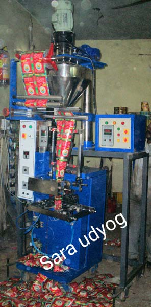 Mehndi Pouch Packing Machine